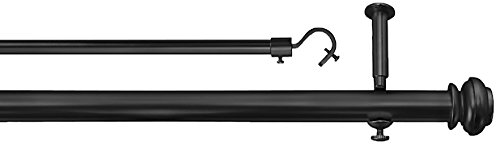 (Source Global Bold Pole Double Rod Set 86 by 144-Inch,)