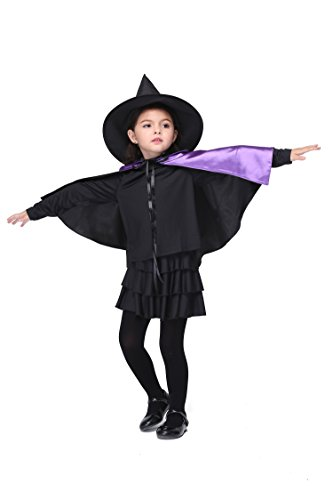 Cosplay Costume Oops (Toddler Girl Halloween Costumes Fairytale Cosplay Party Fancy Dress Purple S (95cm-105cm))