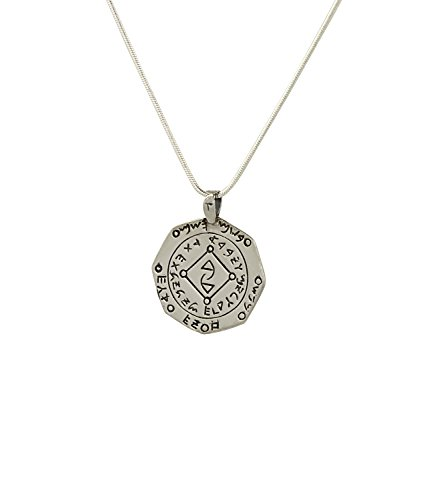 Unblocking & New Possibilities Sterling Silver Amulet on 19