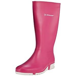 Dunlop Protective Footwear Sport Retail, Bottes de pluie Mixte adulte, Rose (Pink), 38 EU