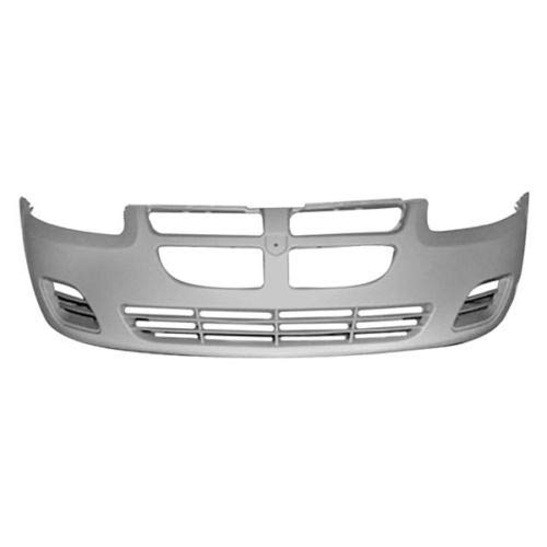 New Front Bumper Cover For 2004-2006 Dodge Stratus For Use Without Fog Lights, For Sedan Models, Paint To Match Finish CH1000407 4805903AB
