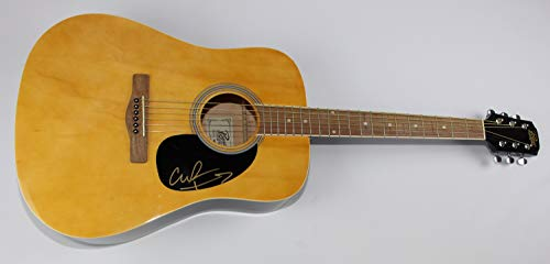 The Black Crowes She Talks to Angels Chris Robinson Signed Autographed Full Size Blonde Wood Acoustic Guitar Loa (Black Crowes She Talks To Angels Acoustic)