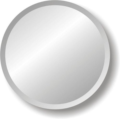 Regency Round Frameless Mirror Size: 36'' W