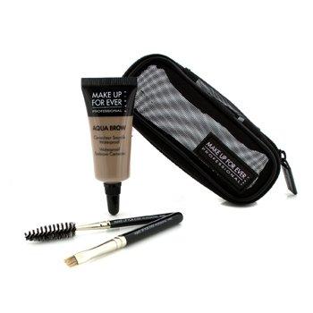 Make Up For Ever Aqua Brow Kit - #10 Light Blond 7ml/0.23oz