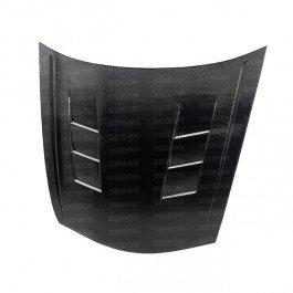 Seibon TS-Style Carbon Fiber Hood for 2008-2010 Honda Accord 4DR ()