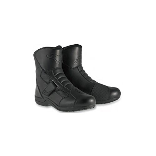 (Alpinestars Ridge Waterproof Men's Street Motorcycle Boots - Black / 47)
