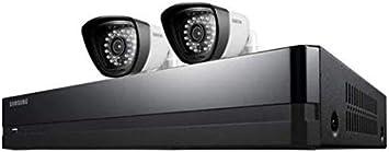 Nuevo kit de cámaras de seguridad CCTV Samsung SDH-P4021, con2x IP66, 1080 pix., 8canales, 2TB H.264DVR, día/noche, 25m de rango, interior/exterior