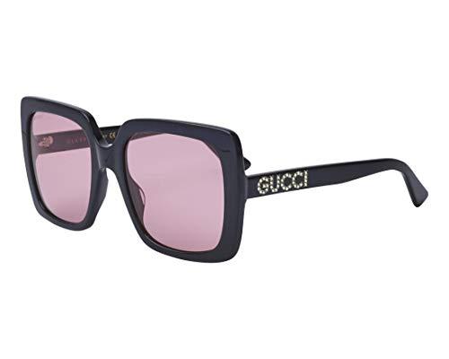 Sunglasses Gucci GG 0418 S- 002 BLACK/PINK ()
