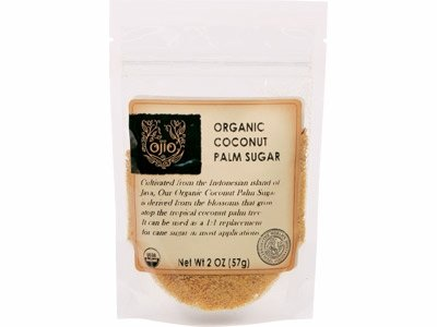 Ojio Organic Coconut Palm Sugar Unrefined 12 oz 340 g
