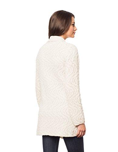 Invisible World Womens Alpaca/Pima Cotton Blend Womens Sweater Coat Cardigan Swirl - Medium by Invisible World (Image #4)