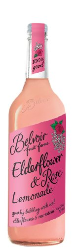 Belvoir Fruit Farms Elderflower and Rose Lemonade 750ml