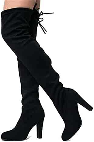 d3c243564dd American Rag Womens Adarra Closed Toe Over Knee Fashion Boots. seller   PairMySole. (0). shoewhatever Women s Sexy Trendy High Heel Over The Knee  Thigh High ...