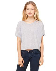 Bella + Canvas Womens 3.7 oz. Boxy T-Shirt (B8881) -ATHLETIC H -M