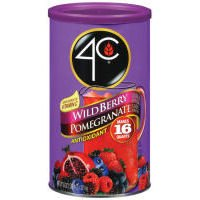 (4C Drink Mix Wildberry Pomegranate 16qt.)