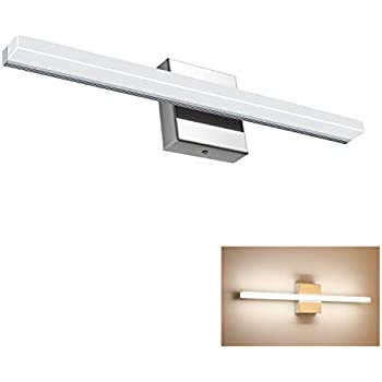 2 Bulb Bath Vanity Light Fixture Wall Mount With Plug In
