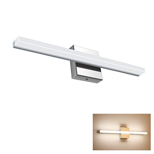 Vanity Light 12W 19.88inches LED Acrylic Rectangle Tube Daylight White 4500K for -