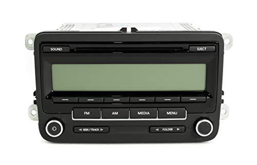 1 Factory Radio OEM Original AM FM CD Radio Compatible With 2011-2014 Volkswagen Golf GTI Jetta GLI ()