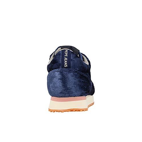 57 Velours Sydney Bleu PGS30362 Jeans BASKETSS Pepe c71WPC1