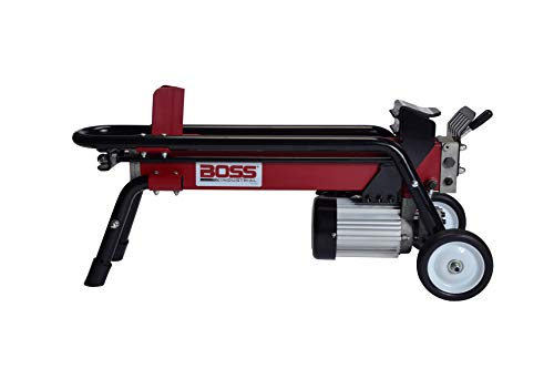 - Boss Industrial ES7T20 Electric Log Splitter, 7-Ton