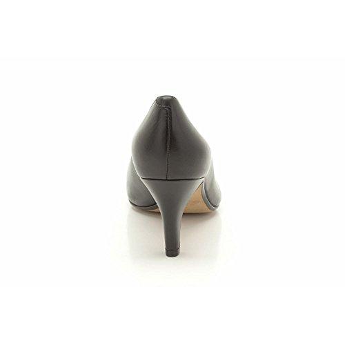 Mujer Zapatos Black Abe de Cuero de Cerrados Arista Clarks tacón xagqwnFAPW