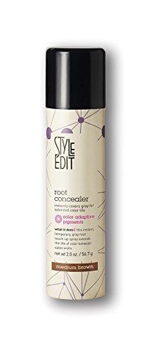 Style Edit Root Concealer Medium Brown, 2 oz.