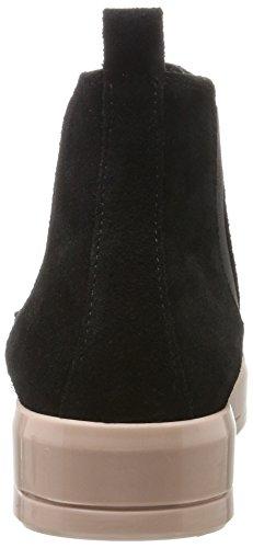 Bianco Women's Wildleder Übergangs Chelsea Boots Black (Black 2 11) Gk1TU