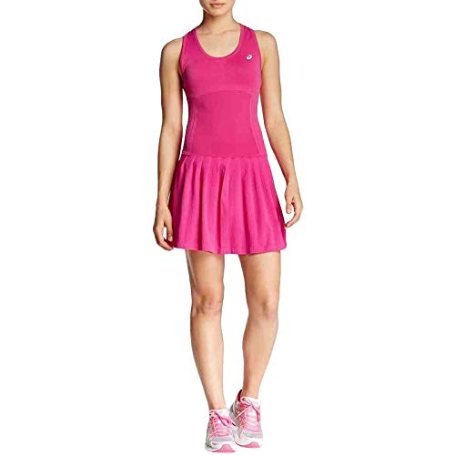 ASICS Womens Racket Tennis Dress - Pink - ()