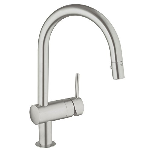 Minta Single-Handle Pull-Down High Arc Kitchen Faucet