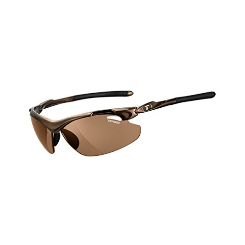 Tifosi Optics Tyrant 2.0 Polarized Photochromic Sunglasses Mocha/Brown, One Size - - Tifosi Sunglasses Photochromic