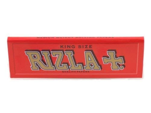 Rizla Red King Size Cigarette Rolling Papers - 10 Packets