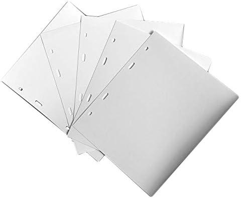 Folder Extra Refill Sheets Inserts oder EIN anderes Marken-Banknotenalbum 10er-Pack COLLECTOR White DIVIDERS f/ür Banknotenalbum