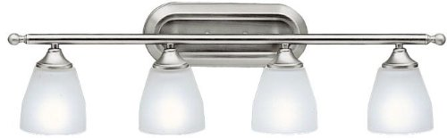 Kichler 5449NI Ansonia Bath 4-Light, Brushed Nickel