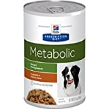 Hill's Prescription Diet Metabolic Weight Management Vegetable & Chicken Stew Canned Dog Food 12/12.5 oz For Sale