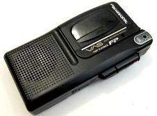 Panasonic RN-302 Microcassette Voice Recorder w/ 5 Micro Audio Tapes Batteries & Head Cleaner