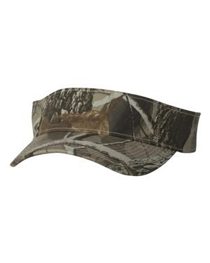 - Kati - Camo Visor - MO80-Adjustable-Realtree Hardwood HD