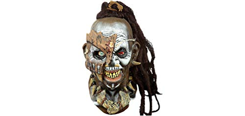Houngan Mask Halloween Costume Accessory, One Size, 11 1/2