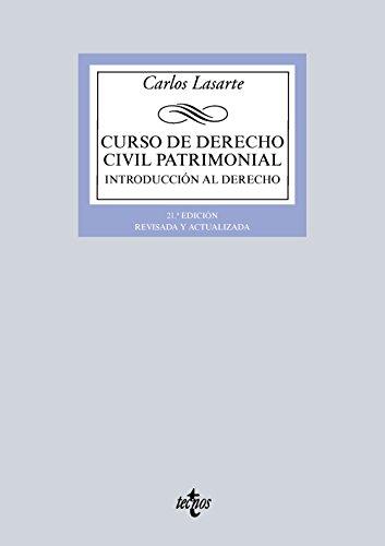 Descargar Libro Curso De Derecho Civil Patrimonial. Introducción Al Derecho Carlos Lasarte