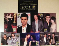 2011 San Diego Comic Con (SDCC) Twilight Movie Limited Edition Postcard Set