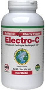 Nutribiotic Electro-C Powder, Cherry, 16 Ounce For Sale