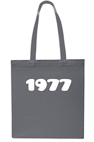 Bolsa Años 42cm Playa Litros Aniversario 10 Gimnasio Asas X38cm Comercial Gris 1977 De De rojo zqdxSz5
