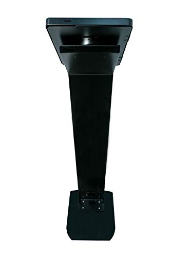 CTA Digital PAD-PARAF Premium Locking Floor Stand Kiosk for 11-inch iPad Pro/Air/Gen. 5-6 / Pro 10.5 / Galaxy Tab A 9.7'' / S2 9.7'' / 3 10.1'' / 4 10.1'' by CTA Digital (Image #6)