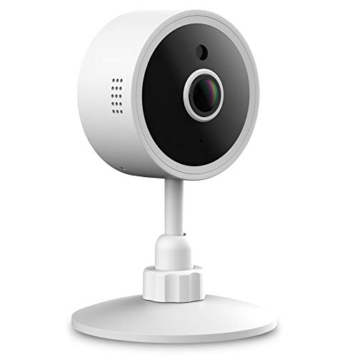 1080P Home Camera, Wireless Indoor Smart Security Camera with Motion Detection, Night Vision, Two-Way Audio, Pet Camera on iOS, Android YI IoT App - Free 6 Seconds Alert Cloud ()