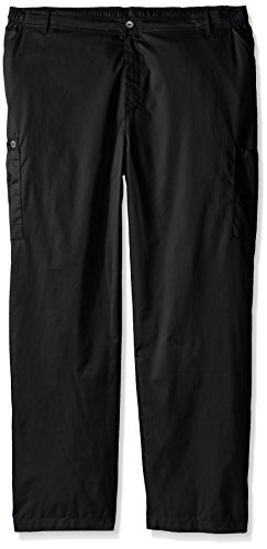 WonderWink Men's Big Wonderwork Cargo Pant, Black, XX-Large