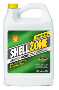 ShellZone Pre-Diluted 50/50 Antifreeze/Engine Coolant Formulated for Stringent Corrosion Protection (1 U.S. GAL/3.785L) - JUG by SHELL