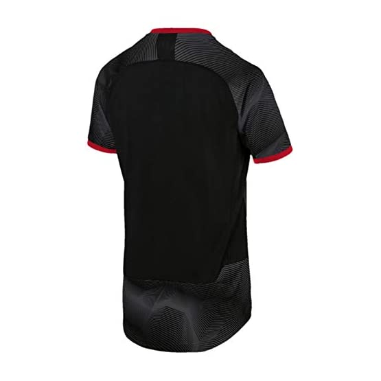 PUMA AC Milan Stadium Graphic Jersey with Sponsor Logo Maillot Homme