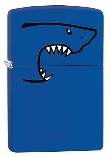 - Zippo Lighter: Shark Bite - Royal Blue Matte 80187