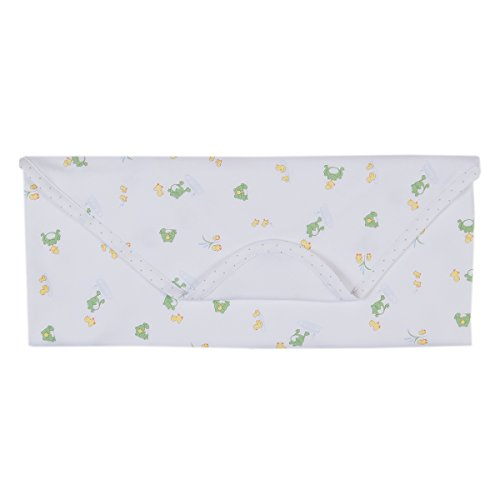 (Kissy Kissy Baby Girls Pond Pals Print Blanket-One Size )