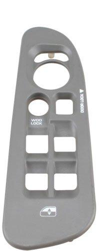SWITCHDOCTOR Window Master Switch Bezel Medium Slate (Gray) for 2002-2009 Dodge Ram (4 Door) ()