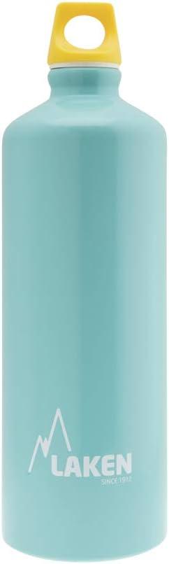 Laken Unisex - Futura Aluminio Azul Claro 1 litro, BPA Libre Botella de aluminio PBA