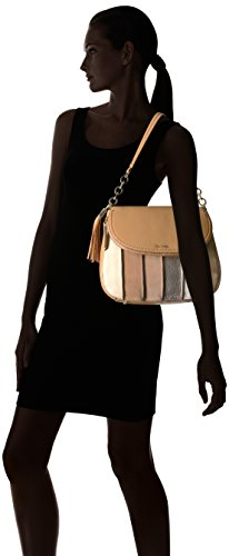 Lynn Hobo Pebble Calvin Flap Shoulder Suede Cashew Klein and Bag RwgnqU57x